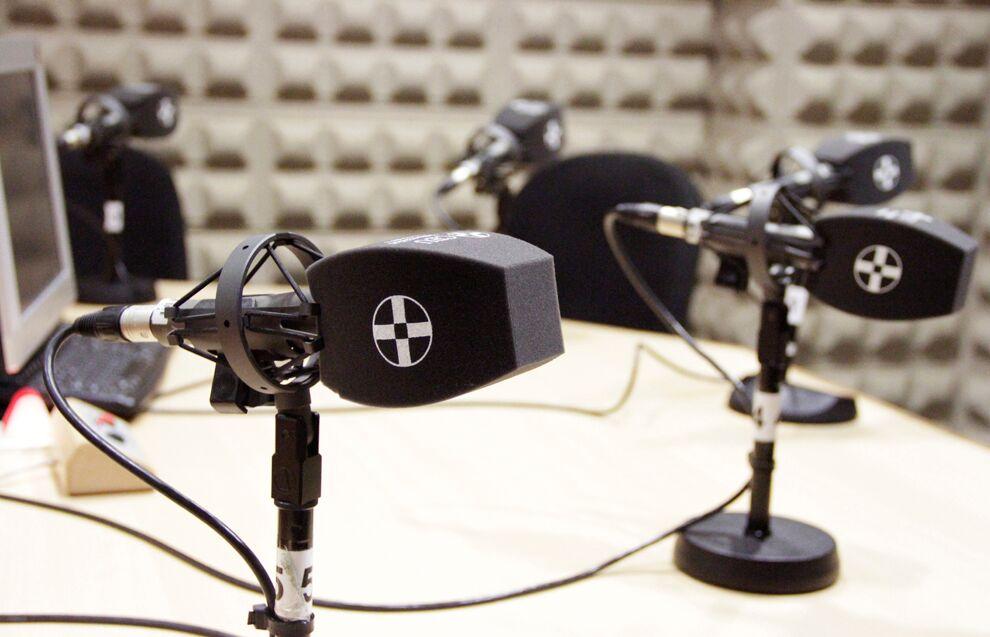 Estudios de radio y televisión.